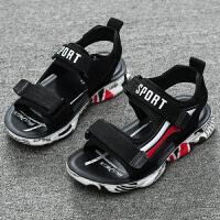 2019夏季新款韩版男童凉鞋软底鞋儿童中大童男孩童鞋宝宝沙滩鞋