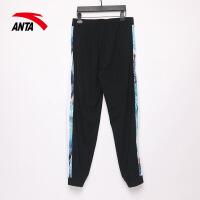安踏运动裤女夏季薄款针织长裤2021新款舒适九分裤162138327R
