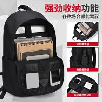 男士背包双肩包休闲大容量轻便时尚潮流电脑包大学生书包女旅行包