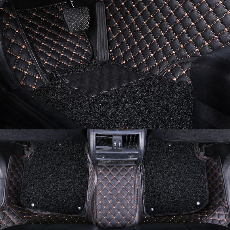 全包围汽车脚垫宝马3系x1奥迪a4l大众途观l迈腾 下单请备注车型为您精确匹配或联系客服