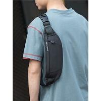 男士腰包潮休闲单肩斜挎包多功能小型轻便胸包运动跑步手机包