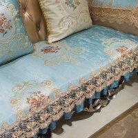欧式沙发垫防滑客厅123组合皮坐垫套罩全盖布艺四季通用