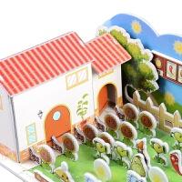 立体拼图3d拼装模型儿童手工纸质拼插玩具二植物大战僵尸