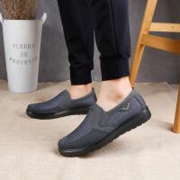 老北京布鞋男款单鞋春秋透气软底大码中老年爸爸鞋舒适一脚蹬
