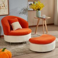 懒人沙发单人小户型小户型单人懒人沙发现代简约嘴唇小沙发可拆洗休闲卧室阳台椅子