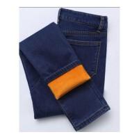 加绒加厚保暖牛仔裤女弹力紧身显瘦高腰韩版冬季新款潮