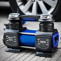 汽车充气泵双缸便携式车载充气泵车载打气泵12v大功率