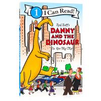 丹尼和恐龙系列Danny and the Dinosaur in the Big City 英文原版绘本 汪�a�E阶段书