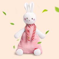 安抚巾可入口安抚兔玩具安抚巾婴儿手偶婴儿哄睡玩偶宝宝毛绒玩具可咬布偶