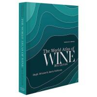 世界葡萄酒地图集 第八版 World Atlas of Wine 8th Edition 英文原版 葡萄酒百科 休约翰逊 Hugh Johnson 葡萄酒大全 葡萄酒参考书 葡萄酒书籍
