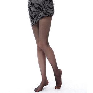 【全店满199减100】浪莎丝袜性感显瘦包芯丝加裆连裤袜超薄脚尖隐形透明丝袜子10条
