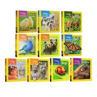 National Geographic Little Kids Look and Learn 美国国家地理探索世界小百科 英文原版 9册启蒙纸板书 全彩儿童图画故事书