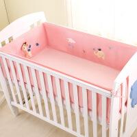儿童床婴儿床床围四季通用新生儿床围四件套夏季宝宝床品透气防撞