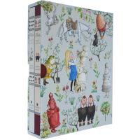 Alice in Wonderland Slipcase Set 爱丽丝梦游仙境 英文原版 2册全套礼盒装 格林威大奖