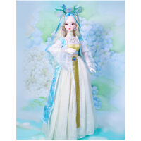 【2件5折】芭比娃娃 新年礼物 精品 德必胜娃娃 十二生肖系列60cm改装娃娃仿真玩具公主bjd换装洋娃娃 龙-龙公主