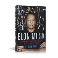 """【英文原版】Elon Musk """"硅谷钢铁侠""""特斯拉之父 埃隆・马斯克传记  精装收藏"""
