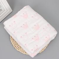 宝宝浴巾 纱布六层纱布儿童浴巾童被宝宝包被蘑菇被子盖毯空调毯wk-76