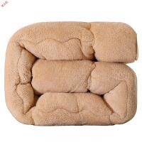 新品羊羔绒棉被子被芯冬被冬季加厚保暖单双人学生宿舍6斤8斤定制