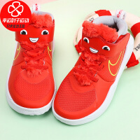 Nike/耐克童鞋新款运动鞋舒适轻便防滑耐磨魔术贴休闲鞋板鞋CT4063-600