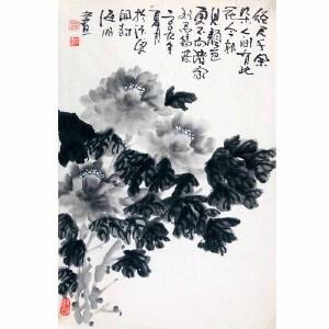 河南省美协会员 张海鹏(牡丹)ZH05