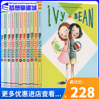 艾薇和豆豆系列 英文原版小说 Ivy and Bean 10册章节书 7-16岁女孩强烈推荐 凯迪克金奖 插画家 苏菲