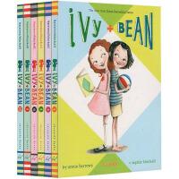 【全店满300减80】#英文原版 Ivy and Bean 艾薇和豆豆系列11册 章节桥梁书 7-14岁女孩中小学课外阅读儿童读物