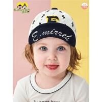 婴儿网帽鸭舌帽夏季薄款男童女童遮阳帽韩版可翻檐宝宝帽子