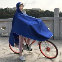 自行车雨衣男 雨衣电动车雨披电瓶车雨衣自行车骑行学生单人男女士加大加厚J