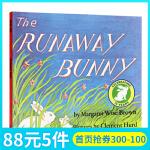英文原版绘本 The Runaway Bunny 平装 逃家小兔 廖彩杏书单推荐 美国100书单推荐 儿童图画书 吴敏