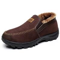 老北京布鞋男鞋冬季棉鞋加厚保暖高帮中老年爸爸鞋老人鞋子
