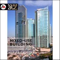 混合型多功能建筑 迈向低碳城市的可持续建筑形态 全球 节能环保型 商业 办公 酒店 住宅 城市综合体建筑设计 含平立剖
