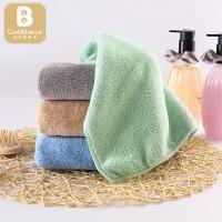 婴儿洗澡巾儿童手帕30*50婴儿毛巾宝宝口水巾洗脸巾小方巾