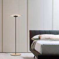 精美护眼时尚创意简约现代客厅落地灯美式艺术床头LED卧室设计师样板房落地灯精美时尚落地灯 直径40 图片色