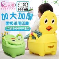 儿童马桶坐便器女宝宝座便器小孩便盆坐便器男加大码婴儿坐便尿盆 升级软垫款