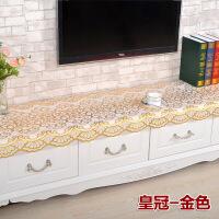 pvc桌布茶几电视柜台布 床头柜餐垫电视桌茶几布盖布烫金h定制
