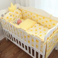 婴童床品套件床围定做四季通用婴儿床上用品可拆洗宝宝床品婴童床围套件ZQ-YS001