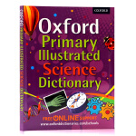 英文原版 牛津英英词典Oxford Primary Illustrated Science Dictionary 小学