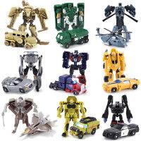 20190612054025508变形玩具金刚迷你大黄蜂小汽车机器人全套模型套装男孩蒙巴迪手动