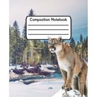 【预订】Composition Notebook: Puma Wide Ruled Lined Journal For