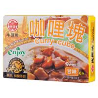 [当当自营] 台湾地区进口 牛头牌 咖喱块(甘甜味) 66g