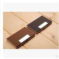 康百H6101时尚名片盒 商务名片夹 *夹 女士男士不锈钢名片盒