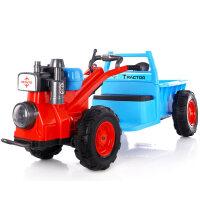 大型玩具车可坐人儿童电动车大童四轮汽车玩具车可坐人小孩手扶拖拉机抖音玩具童车 【网红款】手扶拖拉机