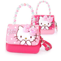 Hellokitty凯蒂猫儿童包包女童小包斜挎包宝宝公主包小女孩腰包手拎包