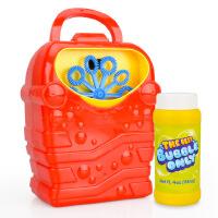 【跨店每满100减50】儿童泡泡玩具 星珀儿童全自动泡泡机玩具 手提卡通电动吹泡泡枪泡泡棒 红色