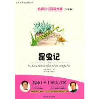 【新书店正版】小学版 名师1+1系列 《昆虫记》 肖复兴 湖南教育出版社 9787535567086