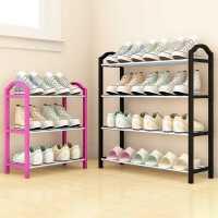多层组合小鞋架防尘收纳布鞋柜宿舍门厅学生置物架简约现代组装