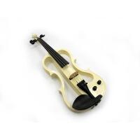 四分之四 电小提琴 电声小提琴 可插电小提琴 白色