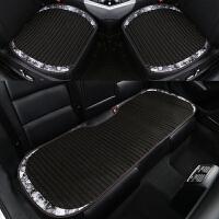 汽车坐垫夏季冰丝单片无靠背凉垫夏天决明子座垫三件套通用型四季