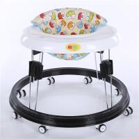 婴儿学步车6/7-18个月学行车防侧翻多功能可折叠儿童宝宝助步车