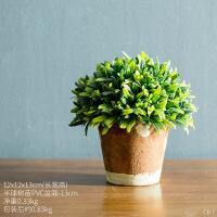 北欧田园绿植装饰品家居客厅仿真植物盆栽桌面窗台欧式盆景小摆件